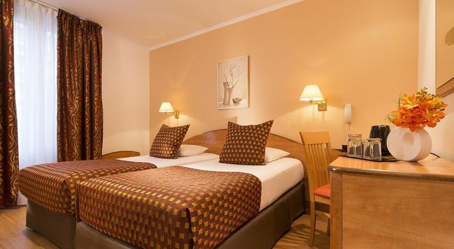 ホテル デュ オーム モデルヌ - パリ - 寝室