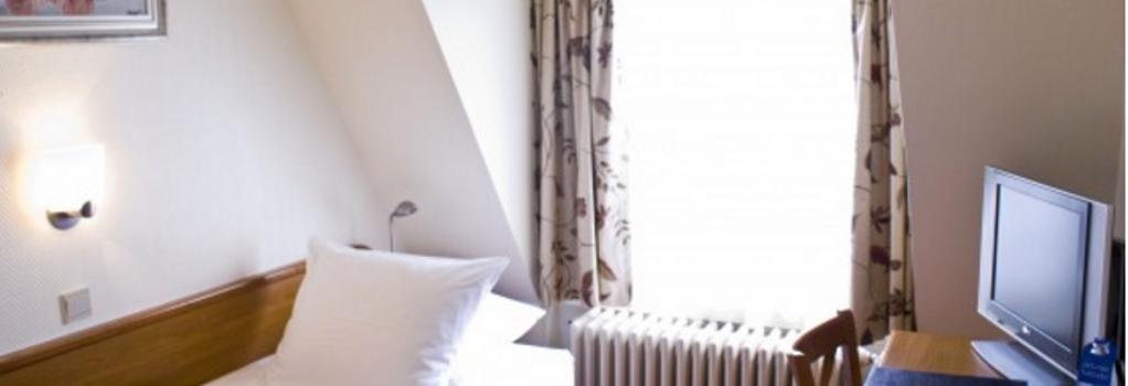 ホテル アールデス - アムステルダム - 寝室