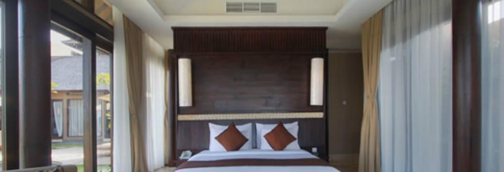 ウル セガラ ラグジュアリー スイーツ & ヴィラズ - South Kuta - 寝室