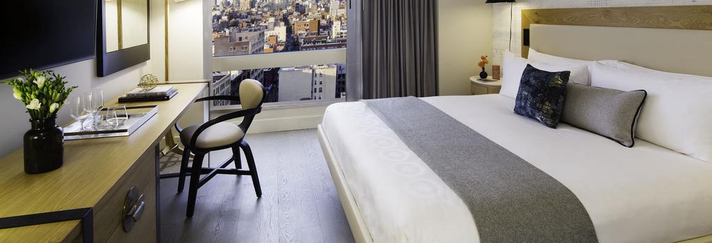 ホテル 50 バワリー - ニューヨーク - 寝室