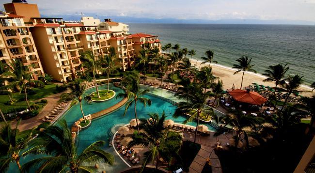 Villa Del Palmar Flamingos Beach Resort and Spa - Nuevo Vallarta - 建物