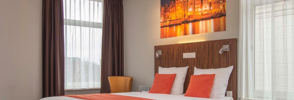 リンデン ホテル - アムステルダム - 寝室
