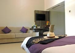 ホテル ボーリヴァージュ - ヌメア - 寝室