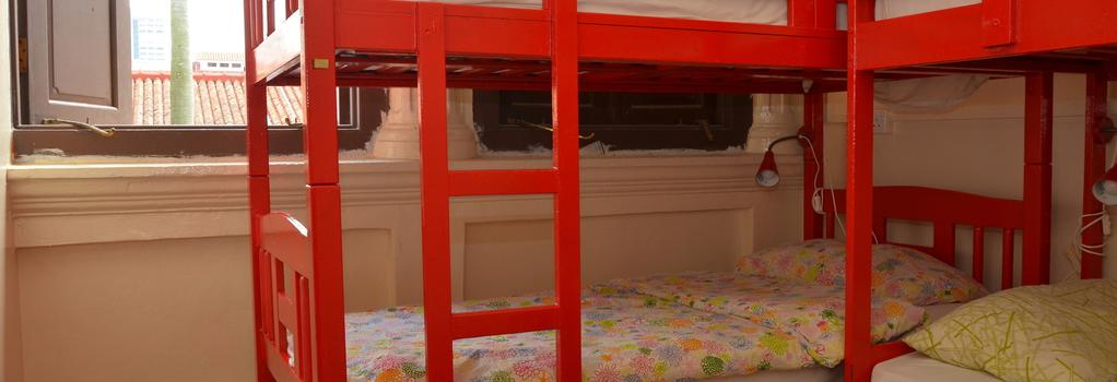 スリーピー キウイ ブティック ホステル&バー - シンガポール - 寝室