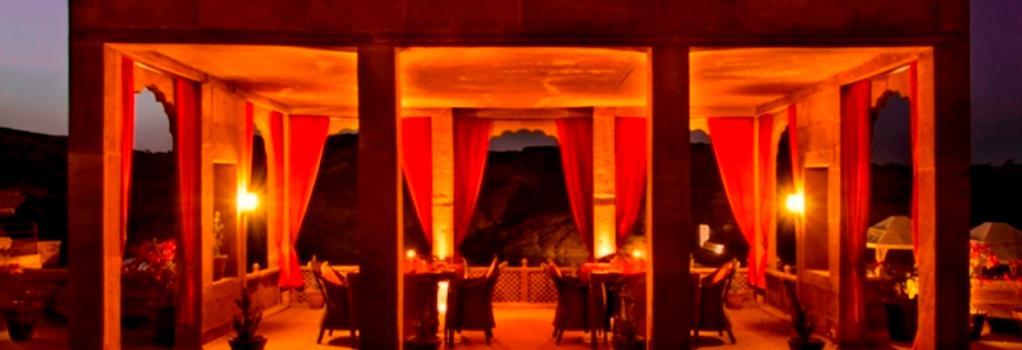 Bijolai Palace, A Treehouse Palace Hotel - ジョードプル - レストラン