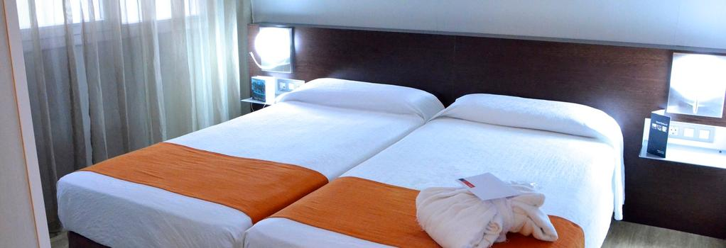 ホテル レコード - バルセロナ - 寝室