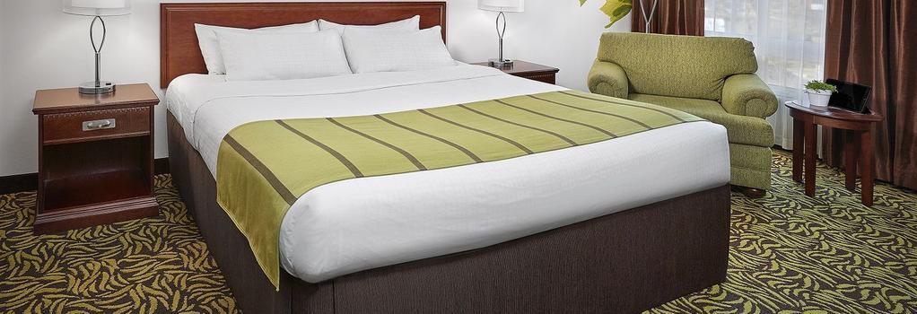 Varscona Hotel on Whyte - エドモントン - 寝室