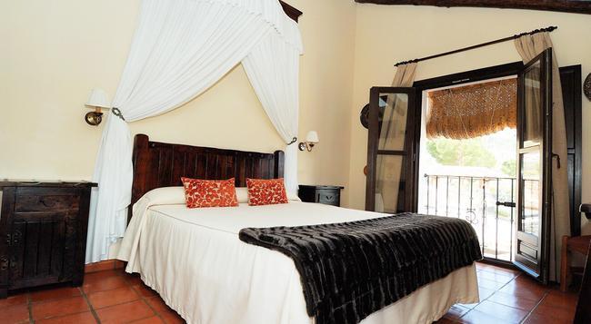 Hotel Hacienda Puerto de las Muelas - ロンダ - 寝室