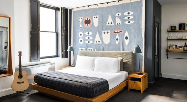 エース ホテル ニューヨーク - ニューヨーク - 寝室