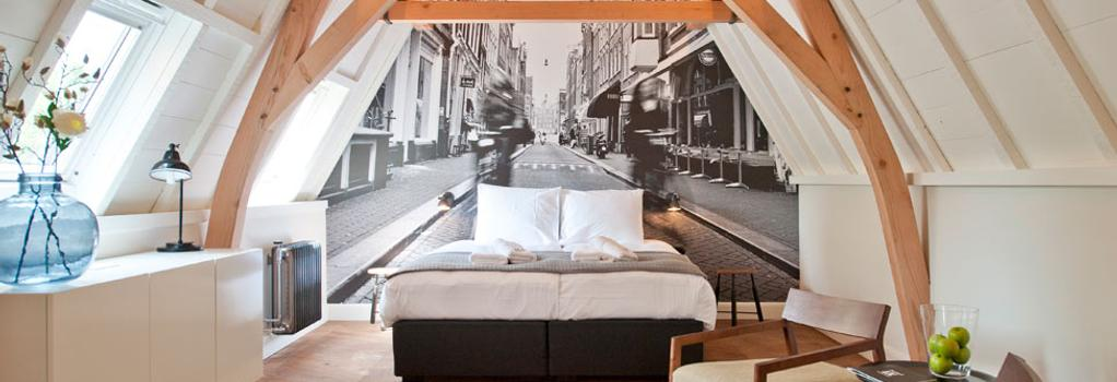Hotel IX - アムステルダム - 寝室