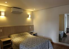Golden Hotel - Chapeco - 寝室