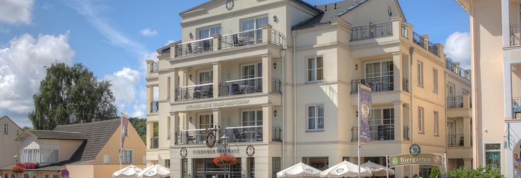 Seetelhotel Ostseeresidenz Heringsdorf - ゼーバート・ヘリングスドルフ - 建物