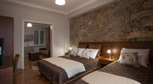 アンブロシア ホテル&スイーツ - アテネ - 寝室