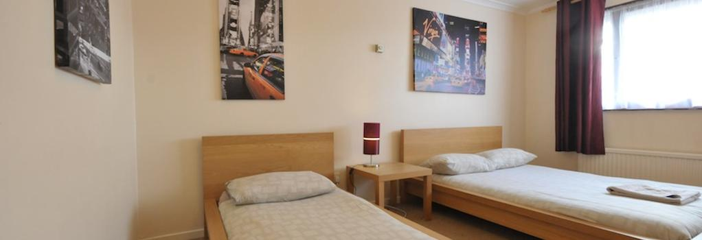 City Centre Rooms - ミルトン・ケインズ - 寝室