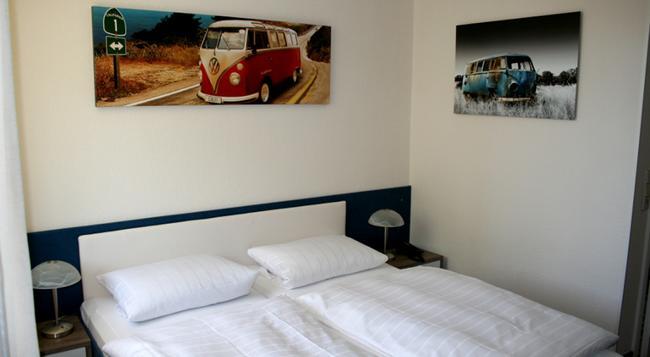 Hotel-Restaurant Bruchwiese - ザールブリュッケン - 寝室