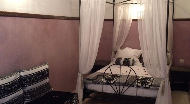 Riad Dar Palmyra - マラケシュ - 寝室