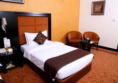ロイヤル グランド スイート ホテル - シャルジャ - 寝室