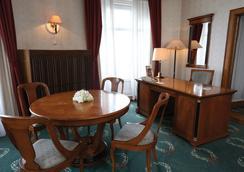 ダヌビウス ホテル ゲッレールト - ブダペスト - 寝室