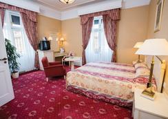 ダヌビウス ホテル アストリア シティ センター - ブダペスト - 寝室