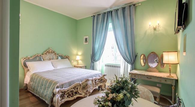 レジデンツァ デイ プリンチピ - ローマ - 寝室
