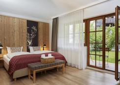 H+ ホテル アルピナ ガルミッシュ パルテンキルヒェン - Garmisch-Partenkirchen - 寝室
