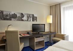 H4 ホテル ハンブルグ ベルゲドルフ - ハンブルク - 寝室