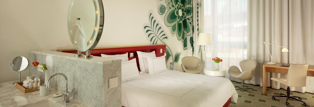 スイスホテル ドレスデン アム シュロス - ドレスデン - 寝室
