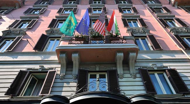 ホテル メチェナーテ パレス - ローマ - 建物