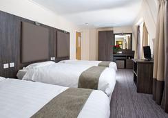 ホテル リリー - ロンドン - 寝室