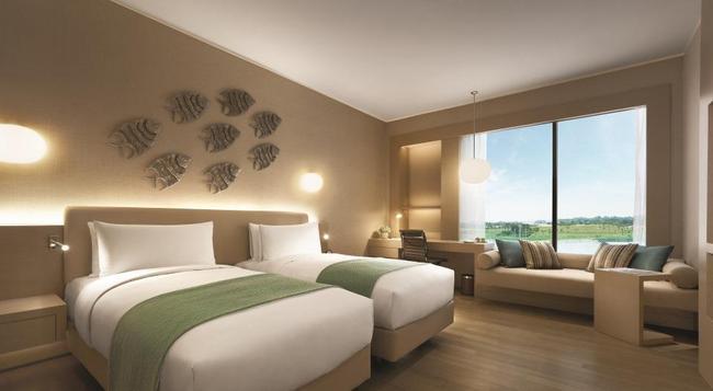 Hotel Jen Puteri Harbour - Gelang Patah - 寝室