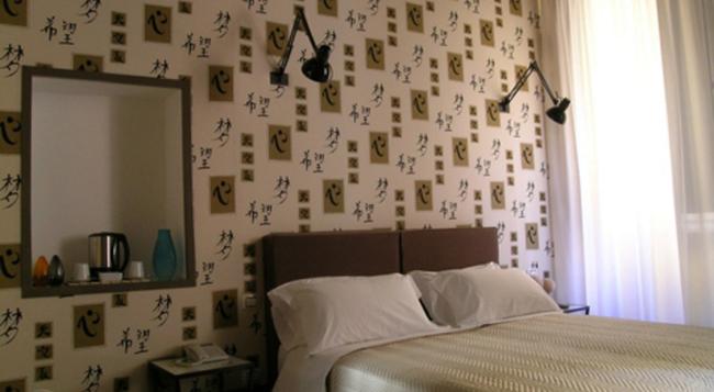 ルレ パラッツォ タベルナ - ローマ - 寝室