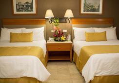 Hotel Olmeca Plaza - ビジャエルモッサ - 寝室