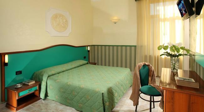 ホテル ドリカ - ローマ - 寝室