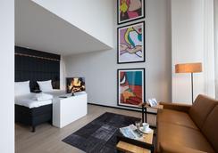 アポロ ホテル フローニンゲン - フローニンゲン - 寝室
