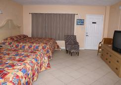 Daytona Shores Inn and Suites - デイトナ・ビーチ - 寝室