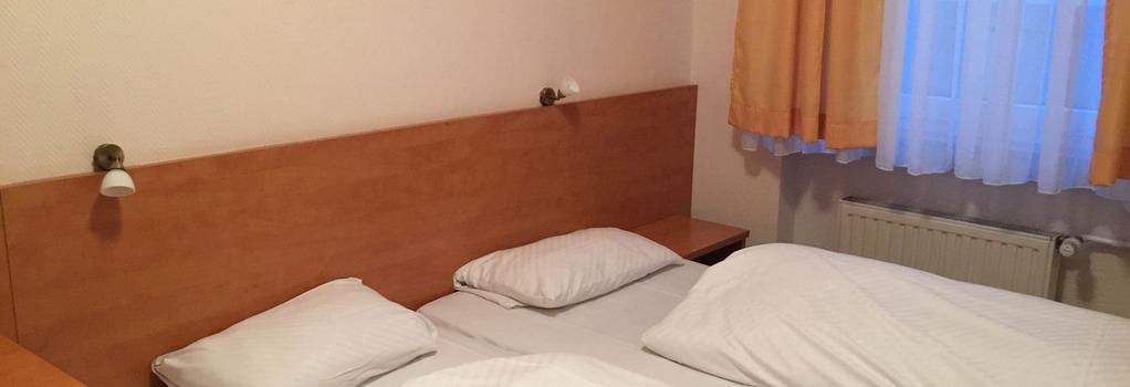 ホテル ユニオン - フランクフルト - 寝室