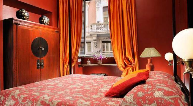 Casa Howard Capo Le Case - ローマ - 寝室