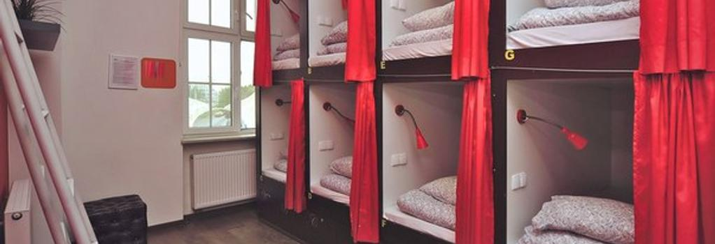 3シティ ホステル - グダニスク - 寝室