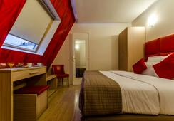 ホテル リヴィエラ - パリ - 寝室