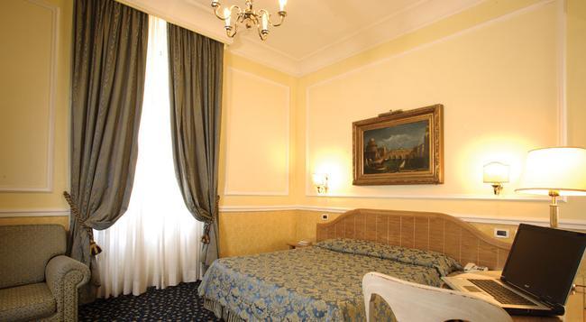 ホテル ジーリオ デロペラ - ローマ - 寝室