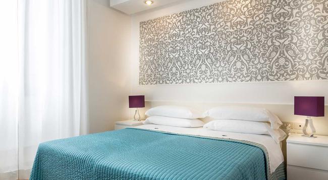 ホテル トライアーノ - ローマ - 寝室