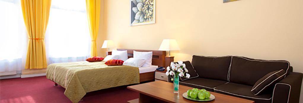 ホテル アベントシュテルン - ベルリン - 寝室