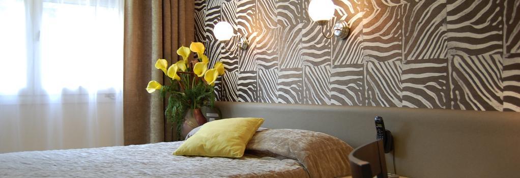 オテル デュ ミディ - Saint-Etienne - 寝室