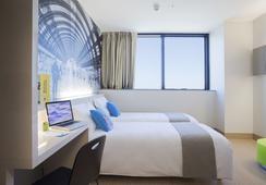 B&B ホテル ミラノ サンタンブロージョ - ミラノ - 寝室