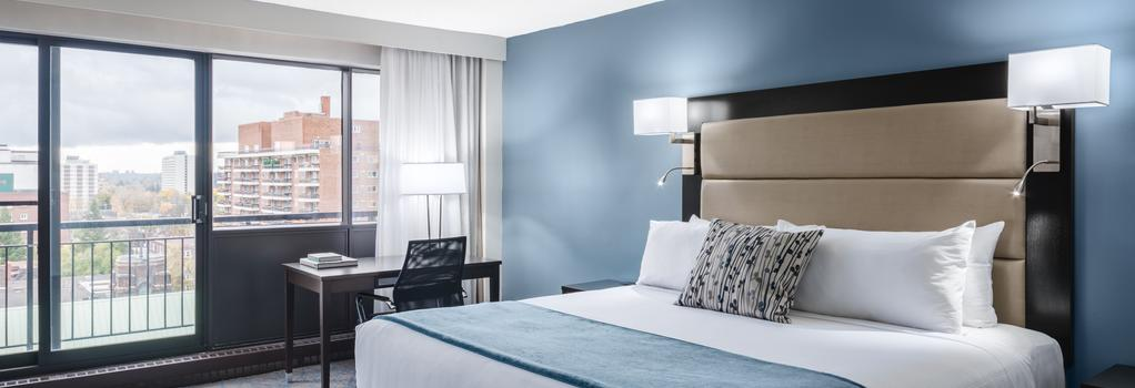 オタワ エンバシー ホテル&スイーツ - オタワ - 寝室
