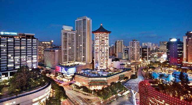 シンガポール マリオット タン プラザ ホテル - シンガポール - 建物