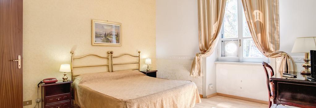 ホテル デステ - ローマ - 寝室