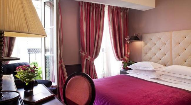Hotel Lenox - パリ - 寝室