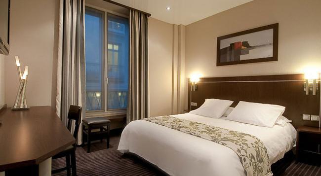 ホテル ショワズル オペラ - パリ - 寝室