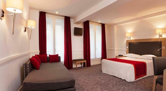 ホテル エリゼ フロベール - パリ - 寝室